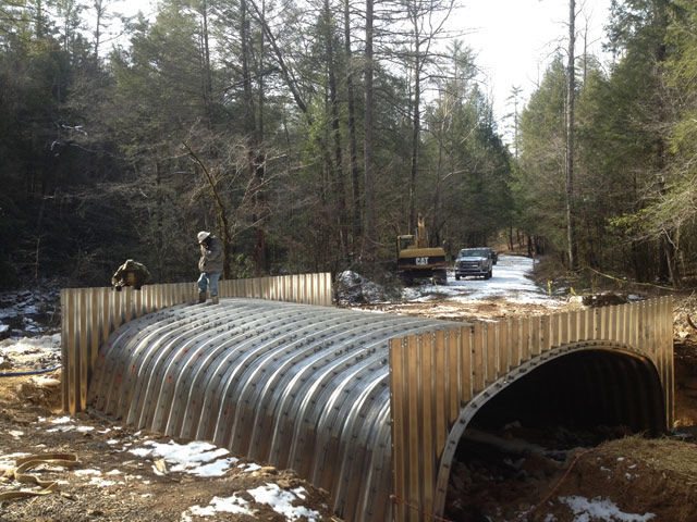 Cherokee National Forrest Culvert Replacement