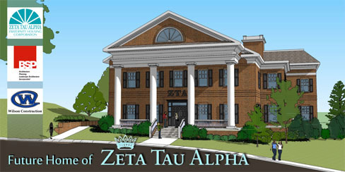UTK Zeta Tau Alpha Housing